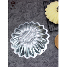 Aluminum alloy sunflower cake mold