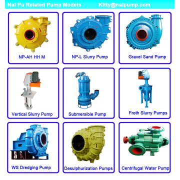 Electrical Horizontal Slurry sand pump