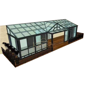 Glass Luxury Room Aluminum Frame Sun House