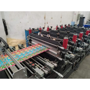 zipper stand up pouch making machine