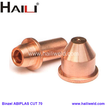 Binzel ABIPLAS CUT 70 Nozzle and Electrode