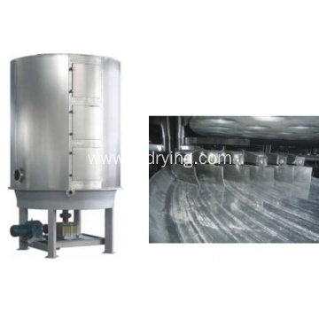 Vacuum continual plate dryer machine