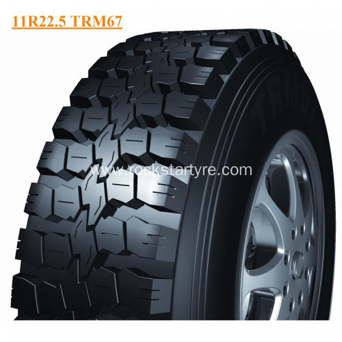 High Performance Rockstar Tyre Truck Tyre 11R22.5 TRM67