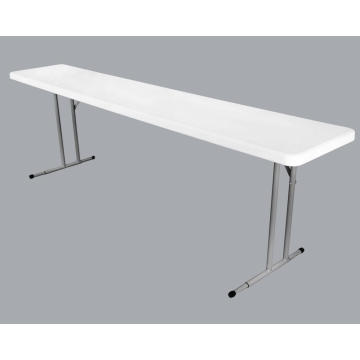 8FT Rectangle Narrow Meeting  Folding Table