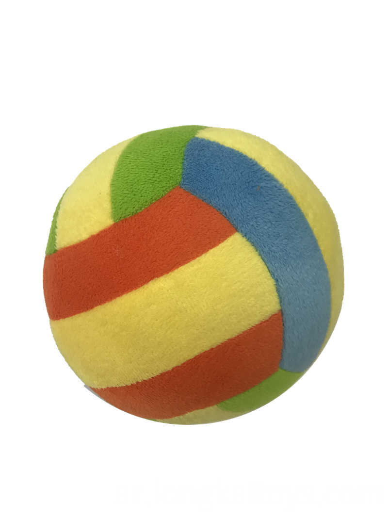 Soft Stuffed Football With Bell