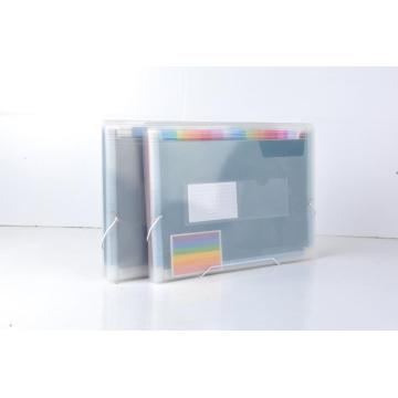 Assorted positions water resistant expanding folders