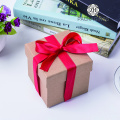 Retro Kraft Paper Gift Box Storage Box