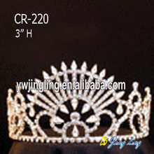 Gold Pageant Tiara Wholesale Crowns