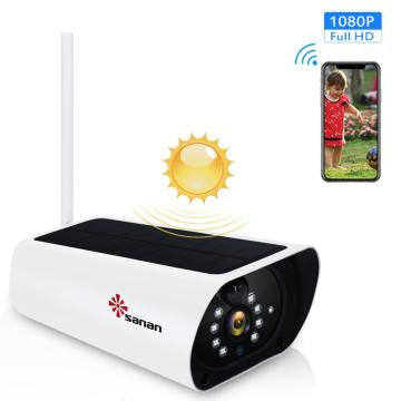solar powered wifi cctv camera 1080P