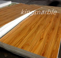 top quality pvc wooden table top sheet