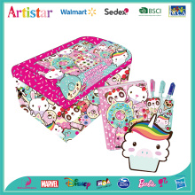 Cute cakes stationery activity trunk box