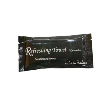 Individually Wrapped Refreshing Wet Cotton Towel