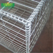 2018 hot sale Galvanized PVC Coted Welded Gabion Box