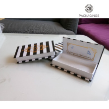 Small mink eyelash packaging box custom