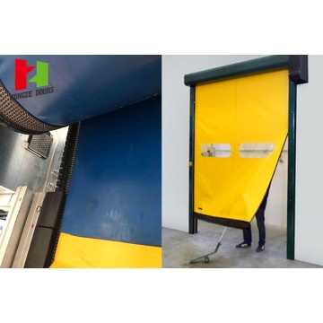 Zipper Flexible PVC Roller Self Repair Door