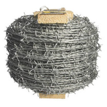 GI barbed wire length per roll for fence
