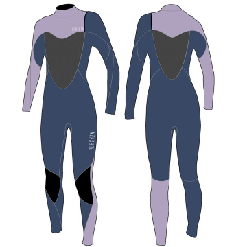 Seaskin 4/3mm Zipperless Steamer Wetsuit For Lady