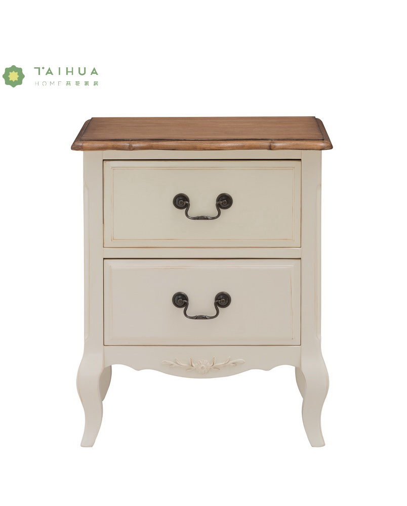 Night Stand Ivory White
