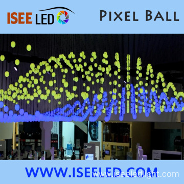 Event Show DC24V DMX LED RGB Hanging Ball