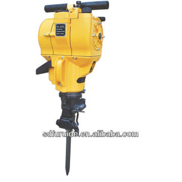 Top Quality Gasoline power rock drill / gasoline concrete road breaker