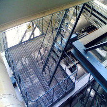 Industrial Steel Grid Staircase Stepping Board
