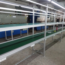 Customized Size Adjustable Height Rubber Belt Conveyor