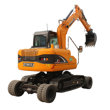 9 Ton Wheel crawler excavator for sale