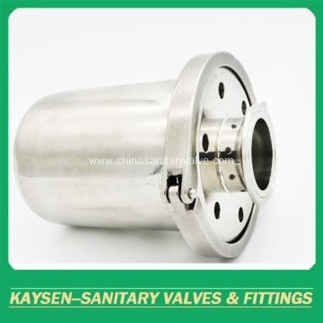 3A Sanitary stainless steel rebreather valves