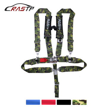 RASTP- 3 Inch 5 point Universal Latch Link Car Auto Racing Sport Seat Belt Safety Racing Harness RS-BAG038-TP