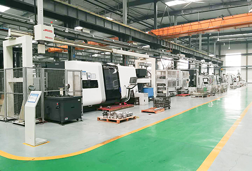 Hydraulic pump production line