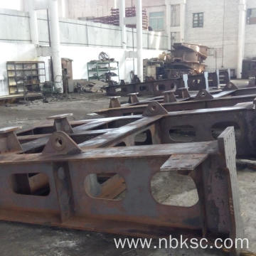 Heavy Steel large diameter machining Fabrication service