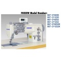 Durkopp Adler 867 Double Needle Leather Sewing Machine