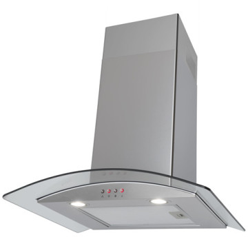 Curved Glass Extractor Hood in Poland
