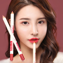 12Colors/Set Sexy Matte Lip Stick Lip Liner Pencil Moisturizing Waterproof Long Lasting Lip Pen Set Beauty Makeup Tool Cosmetic
