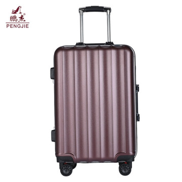 Customized Design abs pc trolley travel luggage bag