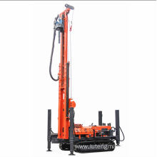 Hydraulic portable water well drilling machine