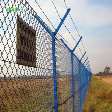Security perimeter welded airport