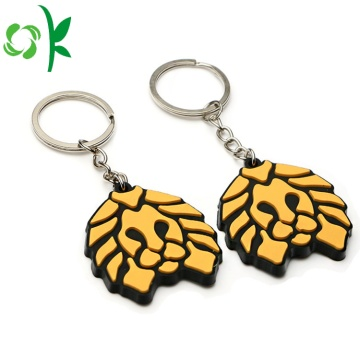 Giveaway Keyring Custom Soft PVC Keychain For Souvenir