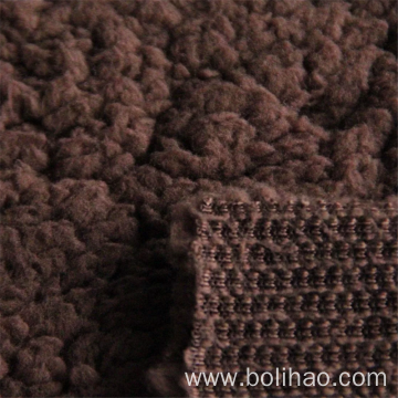 One Side 100% Polyester Sherpa Fleece Fabric