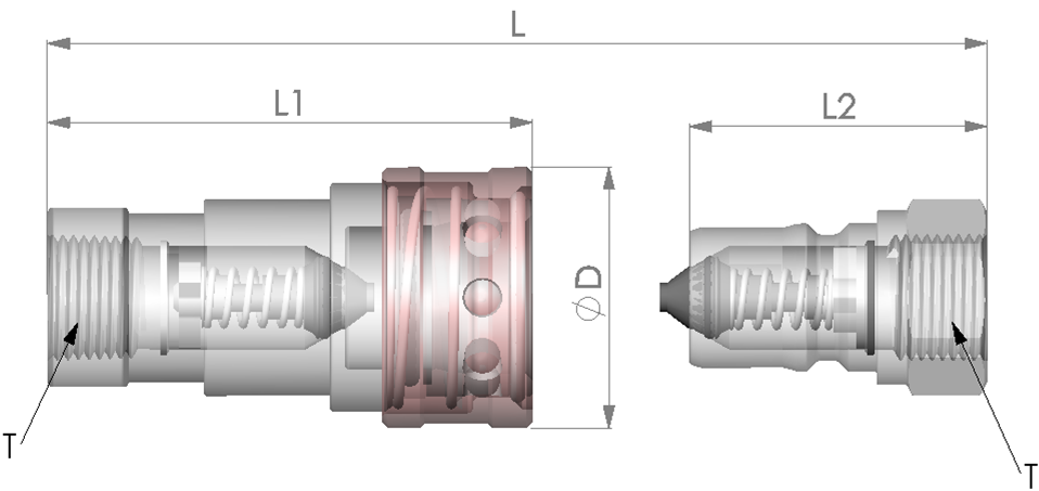 ISO7241-1B Quick Coupling