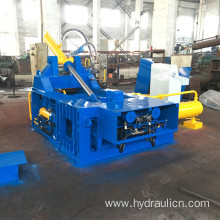Automatic Aluminum Iron Steel Metal Shavigs Baling Machine