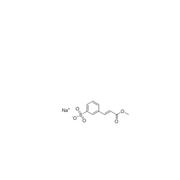 Customized Product Sodium (E)-3-(3-methoxy-3-oxoprop-1-enyl)benzenesulfonate
