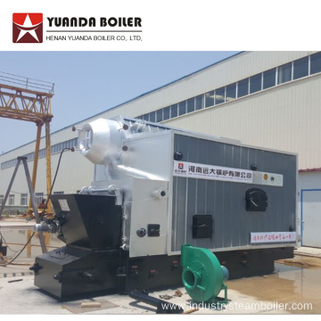 SZL D Type Water Tube Coal Steam Boiler