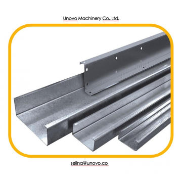 Cold formed c channel steel profile