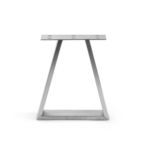 Industrial trapezoid horizontal table bench legs