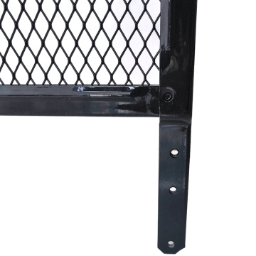 High strength customized steel door grille for pet