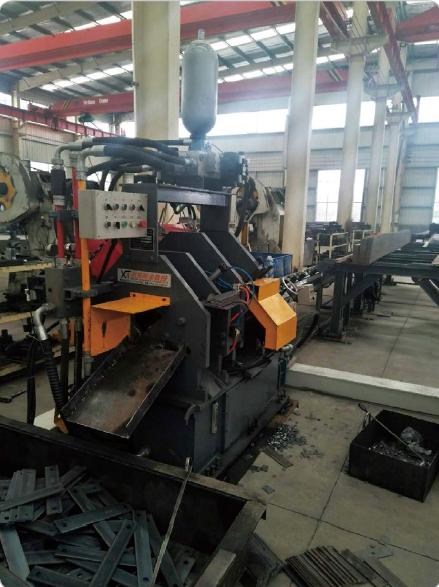 band steel punching line