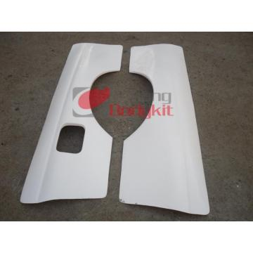 Rear sand plate Wide body +55mm Carbon fibre
