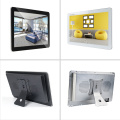 Wall mount 17.3 capacitive touchscreen monitors