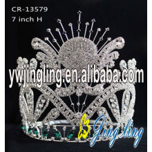 Glitz Rhinestone Pageant Crown